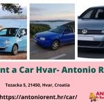 Rent A Car Hvar - Antonio Rent